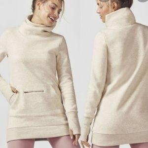 Fabletics Zaylee Pullover Tunic Sweatshirt Medium